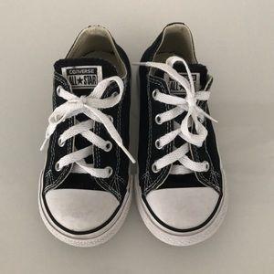 Kids Black Converse All Stars
